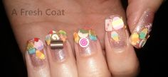 Summer Dessert Selection Queen Nails, Red Queen, Summer Desserts, The Selection, Nail Art, Fresh, Coat, Sewing Coat, Nail Arts