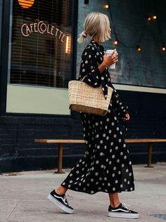 Vestido Y Zapatillas La Combinación Que Tienes Que Usar Ahora