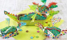 Fertiger Drachenkuchen