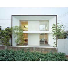 House in Kaga Japan Architecture, Historical Architecture, Interior Architecture, Modern Exterior, Exterior Design, Interior And Exterior, Unusual Homes, Interesting Buildings, Facade House