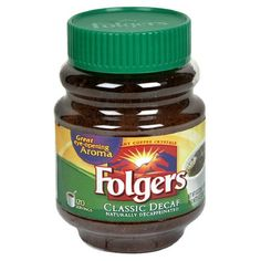 Folgers Classic Roast Instant Decaffeinated Coffee 8 Ounce Jars Pack of 6 * Visit the image link more details. (This is an affiliate link and I receive a commission for the sales)