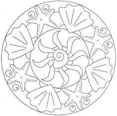 Mandala boyama sayfaları – Okul Öncesi Etkinlik