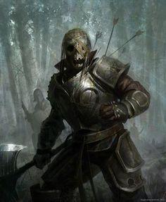 Skeletor warrior by Kingkostas