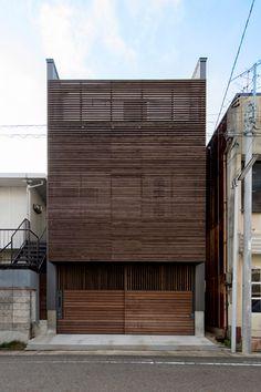 グラデーションハウス・間取り(名古屋市西区)|狭小住宅・コンパクトハウス | 注文住宅なら建築設計事務所 フリーダムアーキテクツデザイン