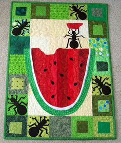 Attic Window Quilt Shop: JUNE WALLHANGING