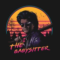 Hands down the best babysitter anyone could ask for...and look at that HAIR! Check out vincent021's shop for more amazing work! #teepublic #fanart #strangerthings #steve #babysitter #80s https://www.teepublic.com/user/vincent021