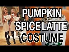 Starbucks Halloween Costume | Pumpkin Spice Latte Costume | Fashion, Style, Lifestyle & Beauty Blog by Carly Cristman