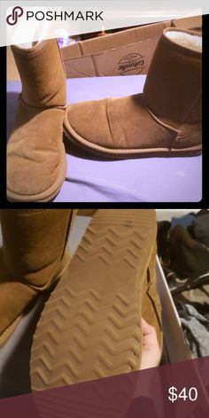 219c9a616bab Ugg boots Good shape. Bottom is pretty worn Shoes Winter   Rain Boots