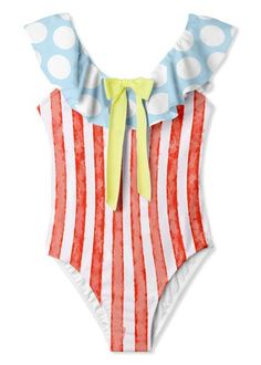 Striped Swimsuit, One Piece Swimsuit, Girls Bathing Suits, Striped One Piece, Kids Wear, Soft Fabrics, Classic Style, Toddler Girl, Petite Fille