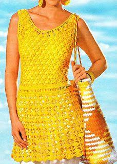 mini vestido amarillo