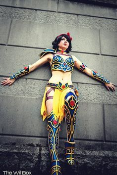 battle princess cosplay | ... Princesses Are Ready For Battle In These Ferocious Cosplay Costumes