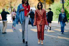 Peju Famojure   Nausheen Shah | Paris via Le 21ème Paris Street, Catwalk, Outfit Of The Day, Cool Style, Stylists, Street Style, Style Inspiration, Pants, Photography