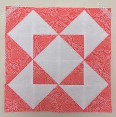 Star Half Square Triangle Quilt Block
