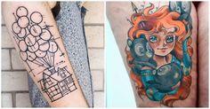 Top 15 des tatouages hommage à Pixar pour les vrais vrais fans