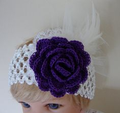 Hey, I found this really awesome Etsy listing at https://www.etsy.com/listing/213841597/crochet-baby-headbandflower-baby