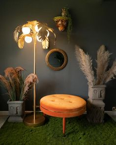 Olivia Floor Lamp – Olive and Sage Paint Finishes, Beautiful Hands, Antique Gold, Floor Lamp, This Is Us, Bulb, Carving, Hand Painted, It Is Finished