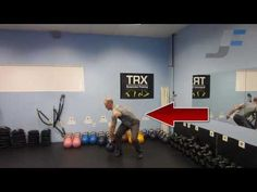 Kettlebell Cross Body Clean