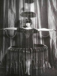 c. 1920s: Luisa Casati's fountain dress