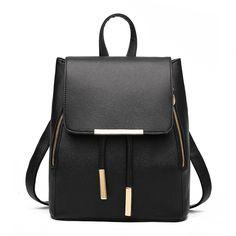 FOLLOWUS Mode Damen Rucksack Leder Schuletasche Reise Daypacks Schulter Rucksackhandtaschen (hellblau): Amazon.de: Schuhe & Handtaschen