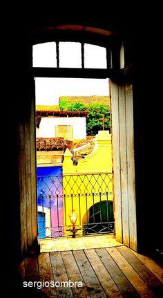 Lá fora! Centro Histórico -São Luís. Créditos: Sergio Sombra.