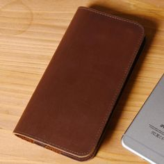 Handmade iPhone 6s Wallet Case Leather Wallets MT07