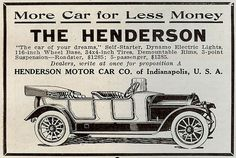 1912 Henderson