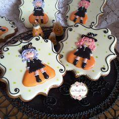 Halloween cookies,, gingerbread cookies,  decorated gingerbread,  cookie  decorating, witch cookies,  Keepsake cookies,  gingerbread gifts