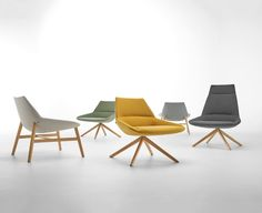 The DUNAS XL WOOD collection, designed by Christophe Pillet for INCLASS