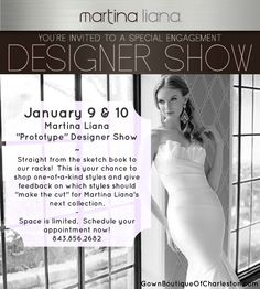 Be a part of the design experience! Call to make an appointment asap! @martinaliana