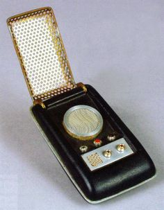Star Trek Original Series Communicator at the Science Fiction Museum in Seattle