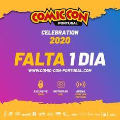 Comic Con Portuga Celebration 2020, o evento digital da Comic Con Portugal para os fãs da Cultura Pop, de 10 a 13 setembro... #comicconportugal #culturapop #bdcomicspt