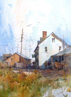 Ian Ramsay Watercolors: