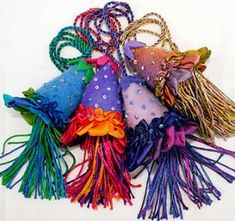 Frilly Tassels by Catherine Howell -
