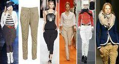 Jodhpur:O breeches. Pantalones de la equitación.
