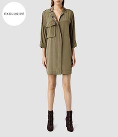 Women's Laurel Colt Dress (Khaki) - product_image_alt_text_1