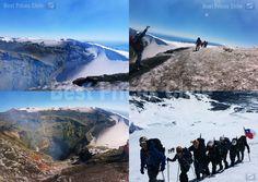 Volcan Villarrica : Hike - Ascent - Tour - Trekking / Discount Price for Villarrica Volcano Hike Discount Price, Volcano, Trekking, Mount Everest, Hiking, Tours, Mountains, Nature, Travel