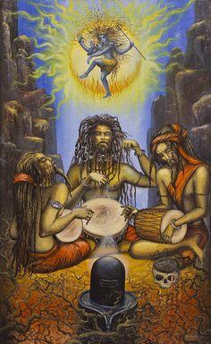 Shiva is the Lord of the Sabbath. Shiva is Lord of Yoga, Loosing the Seven Seals.Shiva meant Seven throughout the ancient world. Arte Shiva, Shiva Hindu, Shiva Shakti, Hindu Deities, Hindu Art, Shiva Yoga, Lord Shiva Hd Wallpaper, Lord Vishnu Wallpapers, Indian Gods