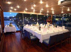 The Glassboat Restaurant in Bristol, UK.