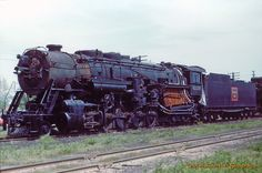 Castle Graphics Transportation Galleria - Color/cbq 6320 2-10-4 beardstown il may21-1961