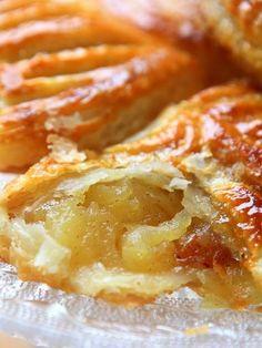 Chaussons aux pommes légers - Recette de cuisine Marmiton : une recette
