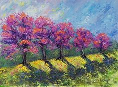 Shades of Spring Blossoms by Nancy Gregg Oil ~ 9 x 12