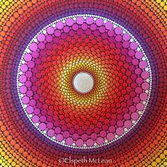 Star burst mandala by Elspeth McLean