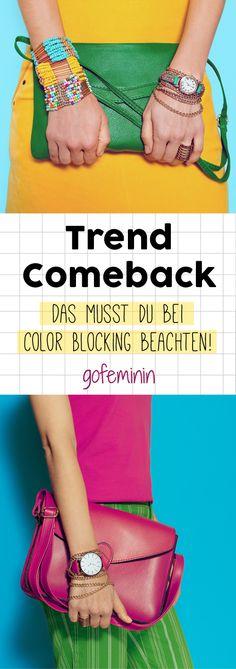 Color Blocking 2017: So stylt ihr den Trend richtig!