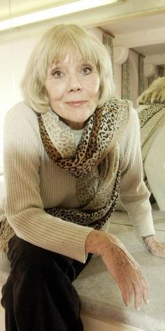 Diana Rigg, 2014 - while playing Lady Olenna in GoT