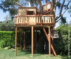 Image detail for -Wood Tree House with Club House & Multiple Levels (Malibu, CA)