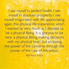 great affirmation by Abraham Hicks
