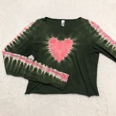 Pretty Outfits, Cool Outfits, Fashion Outfits, Tie Dye Long Sleeve, Long Sleeve Shirts, Vetements Clothing, Estilo Hippie, Lookbook, Clothing Items