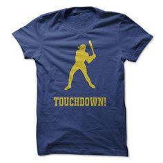 Baseball Touchdown Tshirts - #grey sweater #crochet sweater. CHECKOUT => https://www.sunfrog.com/Sports/Baseball-Touchdown-Tshirts.html?68278