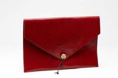 """KUNGSSTEN Laptop Cover 13"""" Leather Red"""