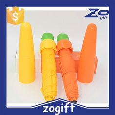 ZOGIFT manufactory Hight quality pepper design umbrella ,fancy childre umbrella